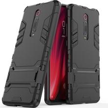 Cover For Xiaomi Mi 9T Case Slim PC + Soft Rubber Hybrid Armor Phone Case For Xiaomi Mi9t Silicone Cover fundas fit mi 9t shell все цены