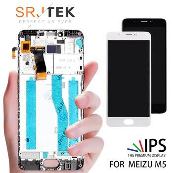 5.2 Original LCD Para MEIZU M5 Exibição Digitador Da Tela de Toque com Quadro M611H M5 Substituição LCD Display Module Para MEIZU