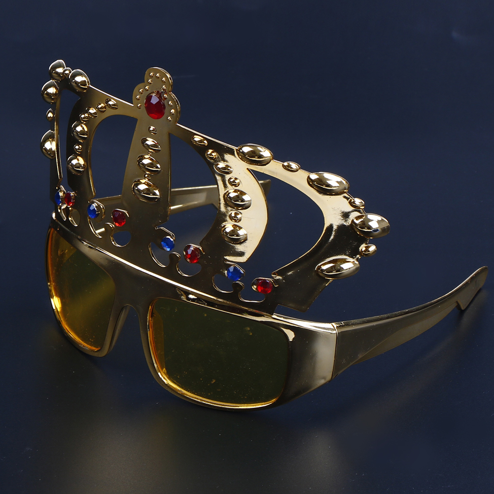e585178ba6d Electroplating Sunglasses Crown With Jewel For Hen Party Costume ...
