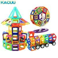 21-89 шт. большой размер DIY магнитные блоки Магнитный конструктор детский Магнитный конструктор для детей подарок развивающие игрушки для мал...