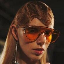 JackJad 2017 Mujeres de La Manera Fresca Conjoined ZHORA Tinte Lense gafas de Sol de la Señora Partido Del Diseño de Marca Gafas de Sol Gafas De Sol Gafas