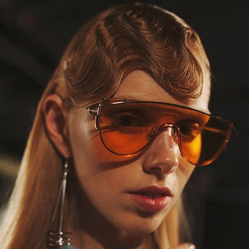 JackJad 2017 Fashion Women Cool Conjoined Tint Lense ZHORA font b Sunglasses b font Lady Party