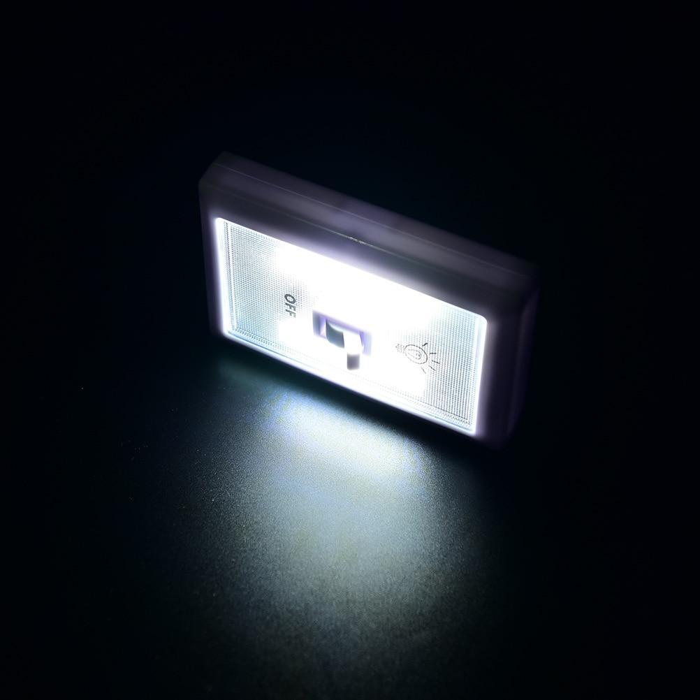 COB LED Cordless Lamp Switch Wall Night Lights Emergency