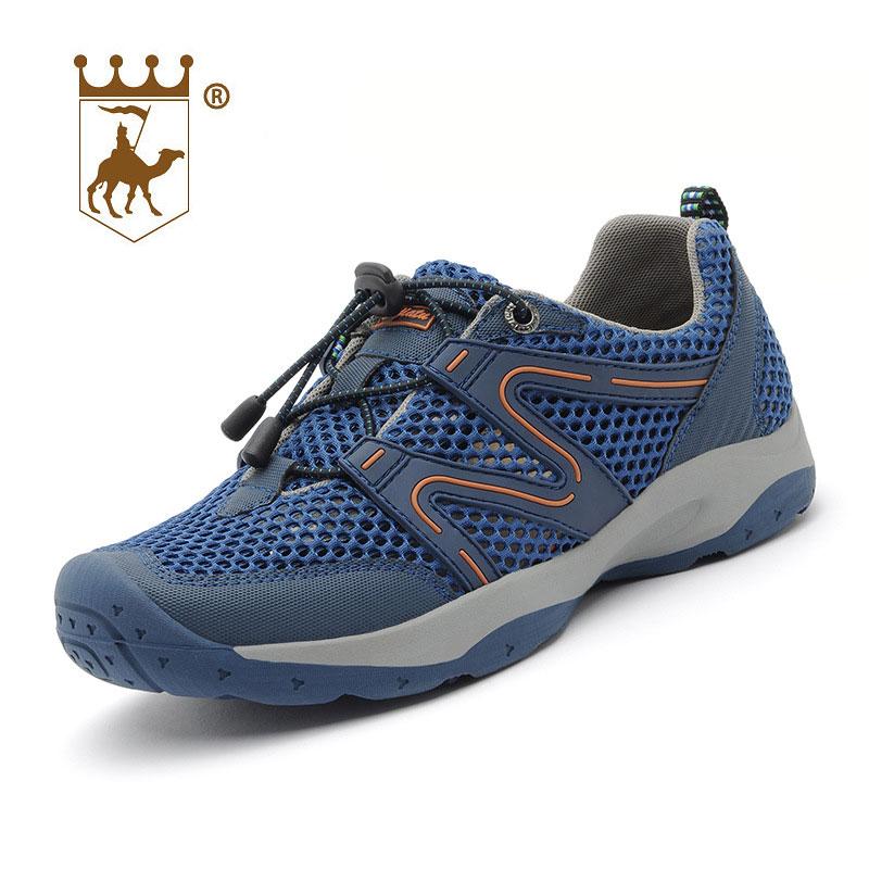 BACKCAMEL 2018 Nuevas llegadas zapatos de hombre de malla de moda - Zapatos de hombre - foto 3