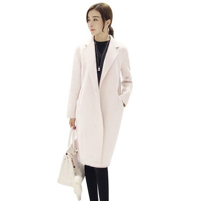 Cappotti Di Invernale Delle Caldi Lunga Donne Design Lana Giacca qUtTn4x