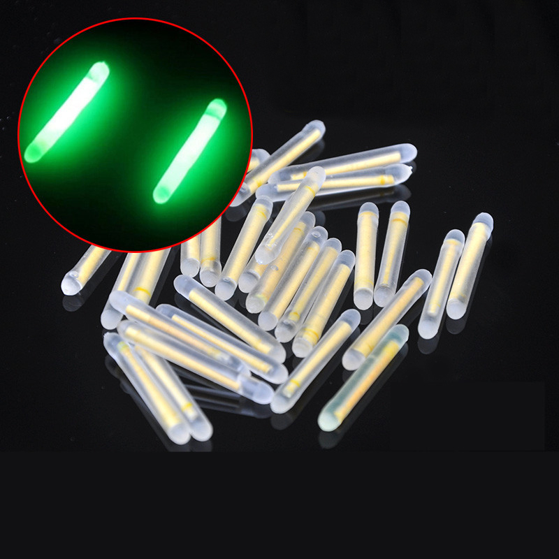 20 Pc Luminous Stick Rod Fishing Float Bobber Fishing Supplies Fishing Gear Fishing Tackle Accessories