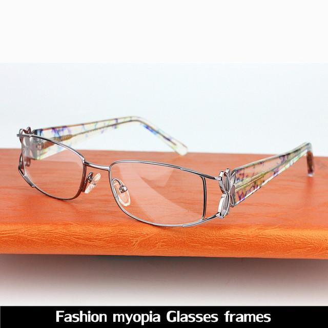 Venta caliente de La Nueva 2016 Diseñador Gafas de Moda Marco Mujeres Gafas De Grau Mujeres Gafas Marco Óptico Marco
