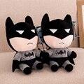 18 CM de Calidad Superior Batman Juguetes de Peluche para niños kids bebé de juguete animado Batman muñeca de Peluche de juguete