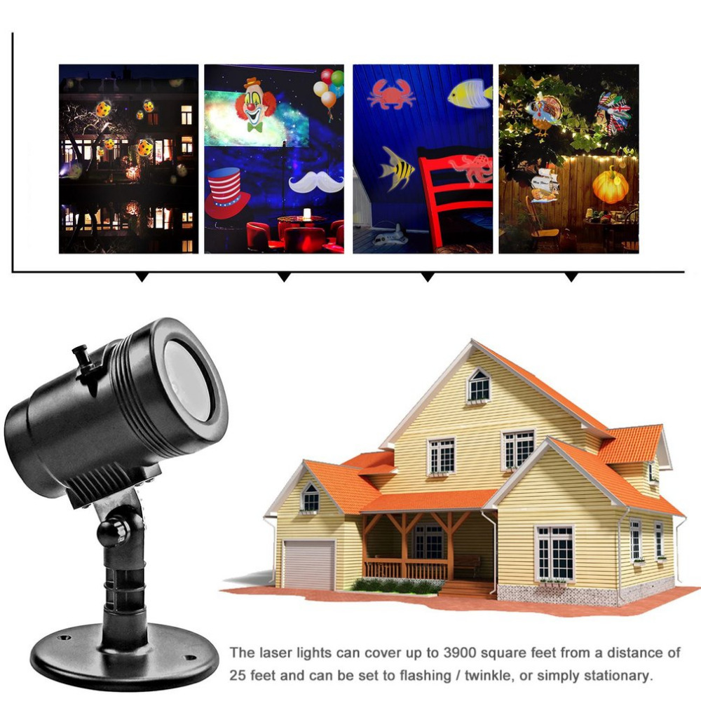 Icoco 1pc led filme projetor luz do