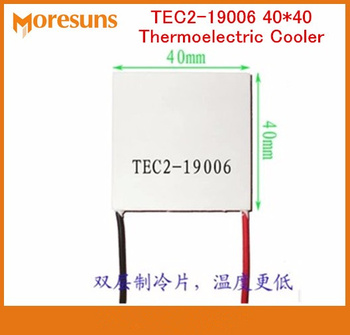 Free ship 5pcs Double refrigeration piece TEC2-19006 40*40 85 degrees cryogenic refrigerator Thermoelectric Cooler