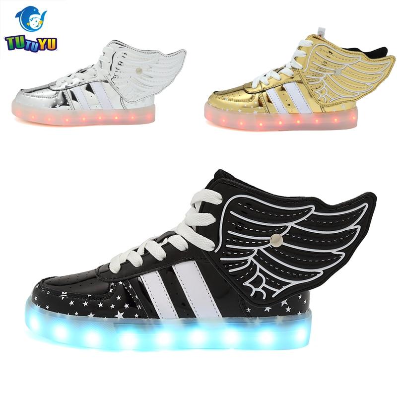 Tutuyu детей Обувь светящиеся Спортивная обувь Обувь для мальчиков Обувь для девочек Повседневное Обувь со светодиодной подсветкой для детей ... ...