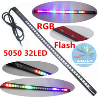 NEW 12V LED 7 Color Strip 32LED 5050 SMD Waterproof Flexible Light Led Tape RGB For