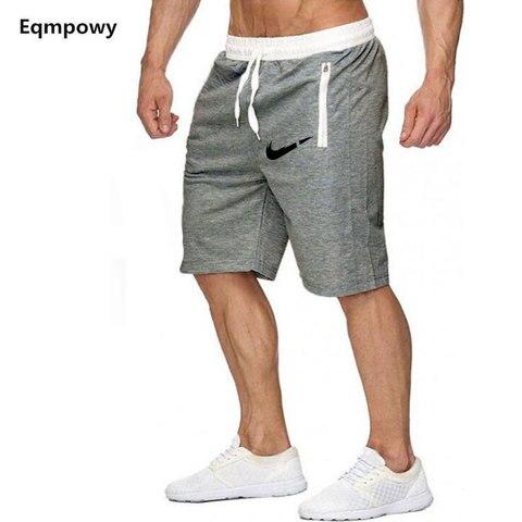 New Fashion Men Sporting Beaching Shorts Trousers Cotton Bodybuilding Sweatpants Fitness Short Jogger Casual Gyms Men Shorts Multan