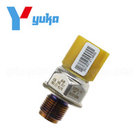 Genuine Fuel Rail Pressure Sensor For Audi A3 A4 A5 A6 Q5 S4 S5 S6 TT