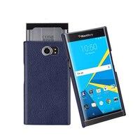 For Blackberry Priv Case Luxury Genuine Leather Case Cover For Blackberry Priv Mobile Phone Shell Back