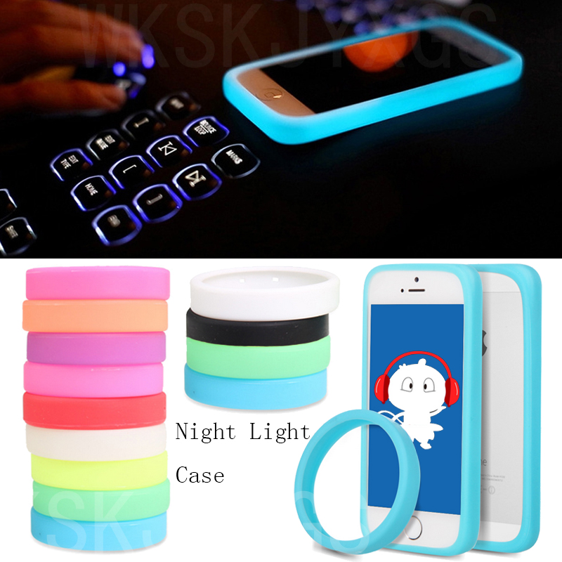 Super Fashion Night Light Case For TCL S820 Phone Silicone Bumper Case For TCL S 820 Silicon Soft Back Case Cover
