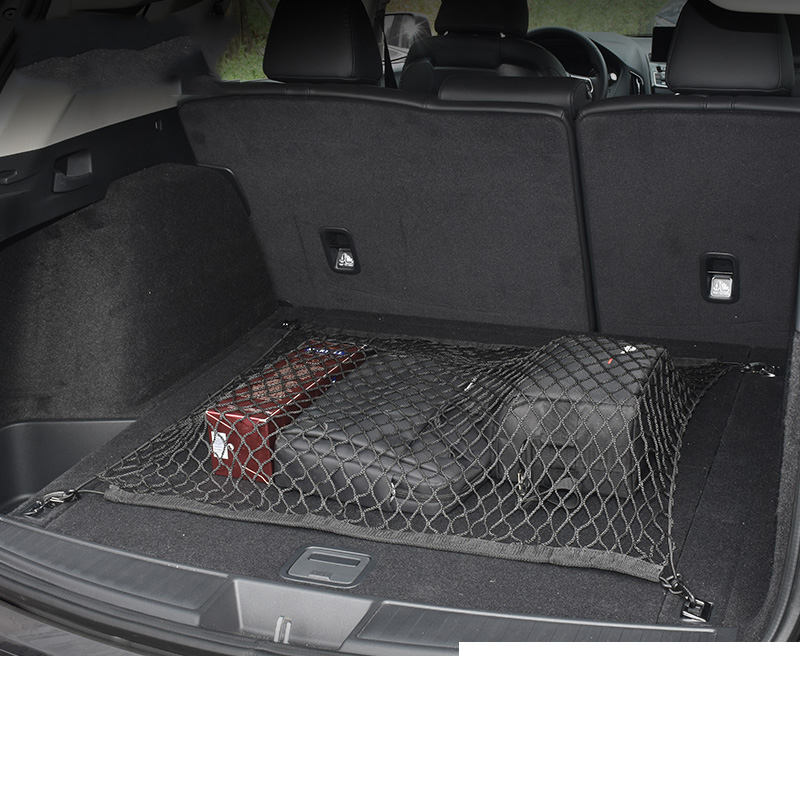 Lsrtw2017 Nylon Rope Rubber Band Car Trunk Fixed Net Pocket for Acura RDX 2019