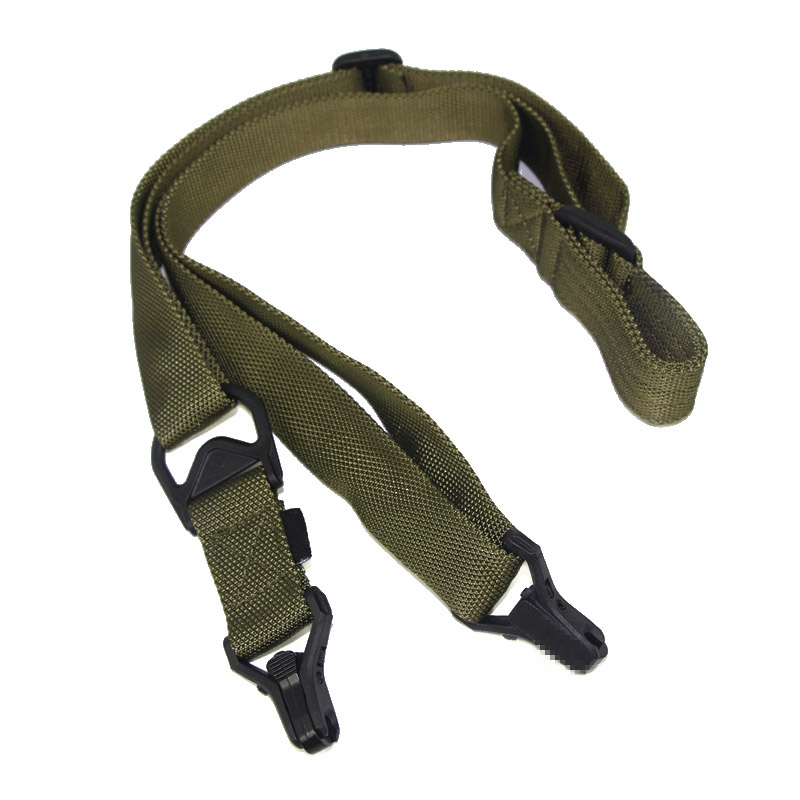 Outdoor Shooting Tactical 2 Two Point Adjustable Rifle Gun Strap Sling System