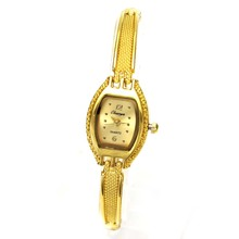 Chain Women's Fashion Gold Color Quartz Watches Hand Necklac