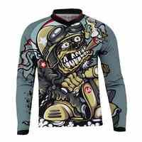 2019 Motorcycle Jerseys Moto XC Motorcycle Summer Mountain Bike Motocross Jersey XC BMX DH MTB T Shirt Clothes