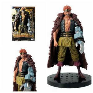 Anime 18CM One Piece DXF THE GRANDLINE MEN Vol.19 Eustass Kid PVC Action Figure Collectible Model Kids Toys Doll(China)