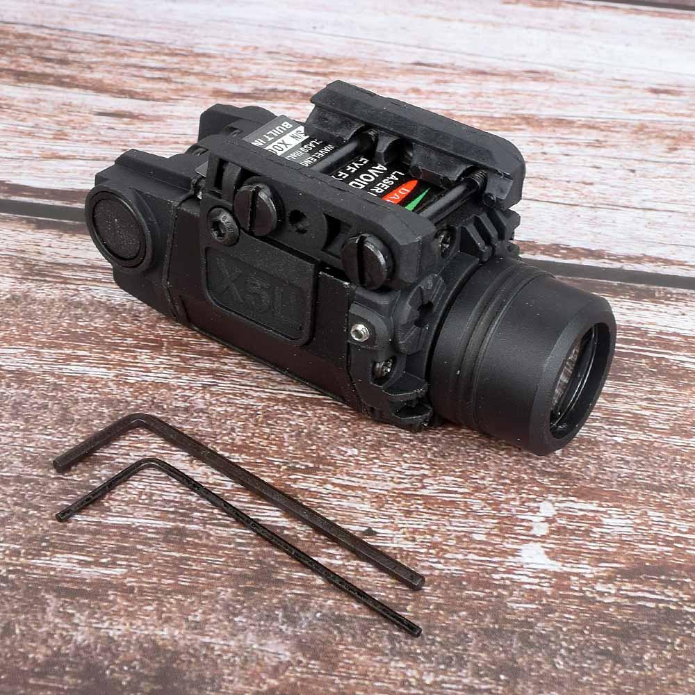 FLASH SALE] Mini Glock Pistol Gun Light Lazer Pointer