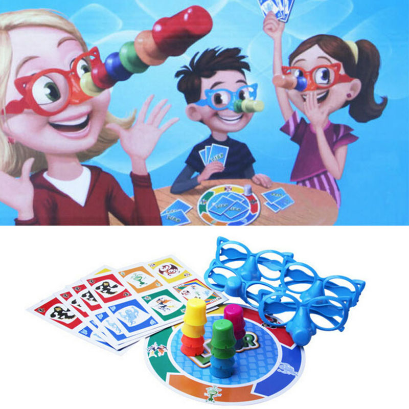 Funny Liar Fibber Game Educational Toys Fibber Board Game Set Stretch The Truth Your Nose May Grow Family Fun Toys