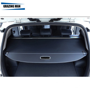 Car Rear Trunk Security Shield Shade tonneau cover cargo cover for Grand Stana Fe