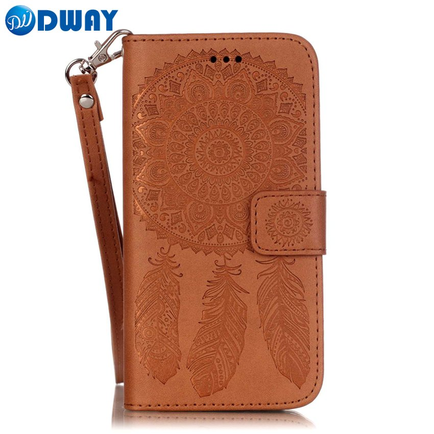 Dream Catcher PU Leather Wallet Purse Book Flip Cover Case for iPhone 6 6S Stand Phone
