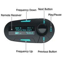 Nuevo Kit Car MP3 Mucsic Reproductor Inalámbrico Transmisor FM Radio Modulador Con USB MMC + Control Remoto