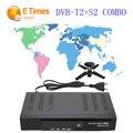 2016 Sintonizador de TV Digital Via Satélite receptor DVB-T2 + S2 Pendentes Das Legendas Teletexto da Sustentação MPEG4 T2 Sintonizador DVB-T2 receptor de televisão