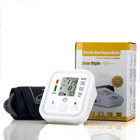 Health Care Household Professional Doctor S Digital Arm Blood Pressure Pulse Tonometer Meter Portable Accurate Home