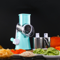 Multi function Drum Grater Shredder Vegetable Spiralizer Hand Rotation Quick Dicer Onion Cutter Potato Cutter Kitchen Gadgets