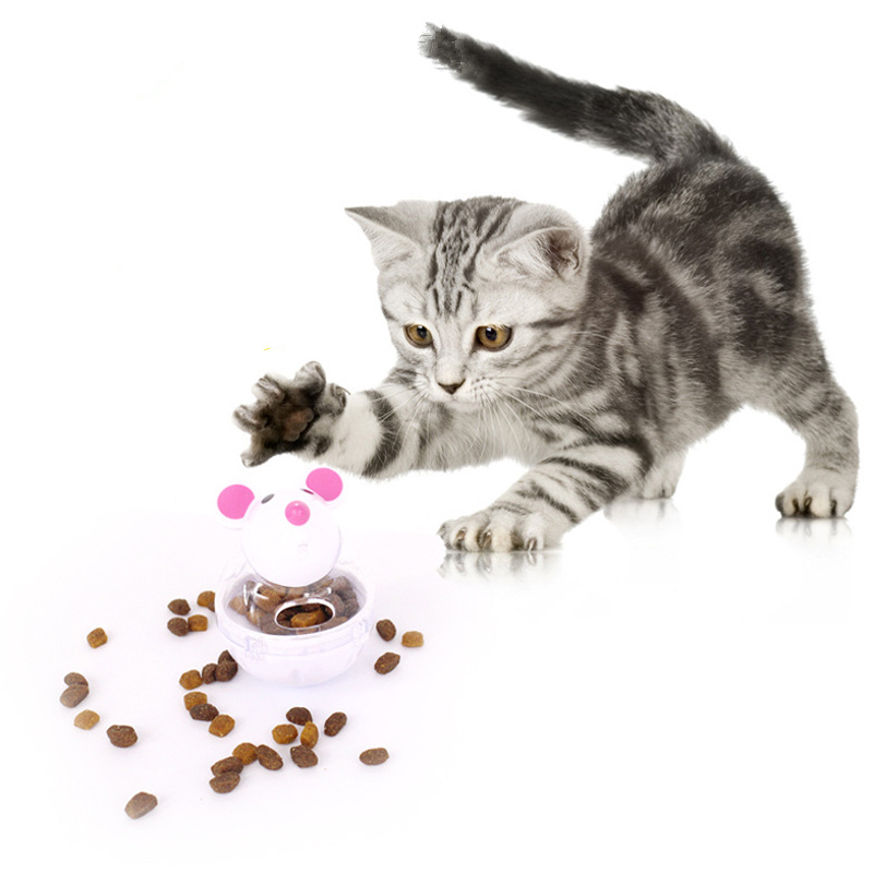 Aliexpress Com Buy Cute Cartoon Mouse Tumbler Feeder Pet