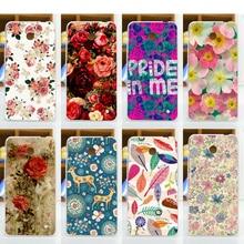 Alta Qualidade 11 padrões coloridos flores da tampa do caso para nokia 630/diy caso pintura colorida para nokia lumia 630 N630