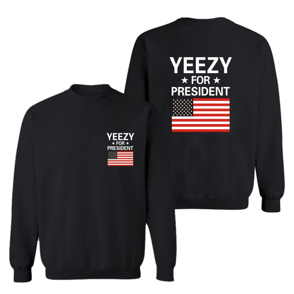 New Arrival Print Hoodies Yeezus Black Men/Women Fashion And Hip Hop Style Cotton Sweatshirts Funny Luxury In Plus Size 4XL