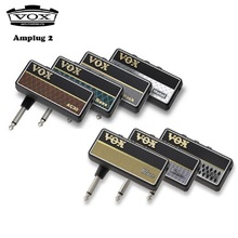 Vox amplug 2 guitarra/baixo amplificador de fone de ouvido, todos os modelos ac30, classic rock, metal, baixo, limpo, blues, chumbo