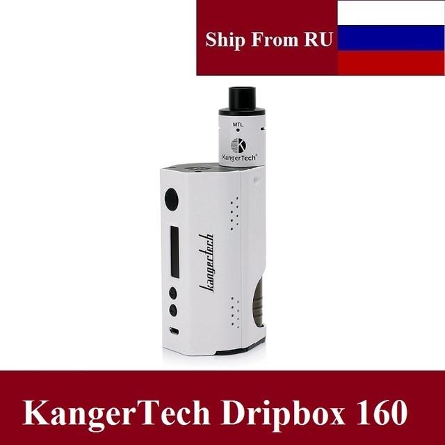 Оригинал Kangertech dripbox 160 Вт VAPE Комплект 7 мл RDA dripper танк VS wismec RX200S smok Skyhook электронных сигарет