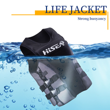 35kg-100kg Adjustable Life Vest Fishing Adult Jacket  Children Swimsuit Swimming Drifting Surfing A