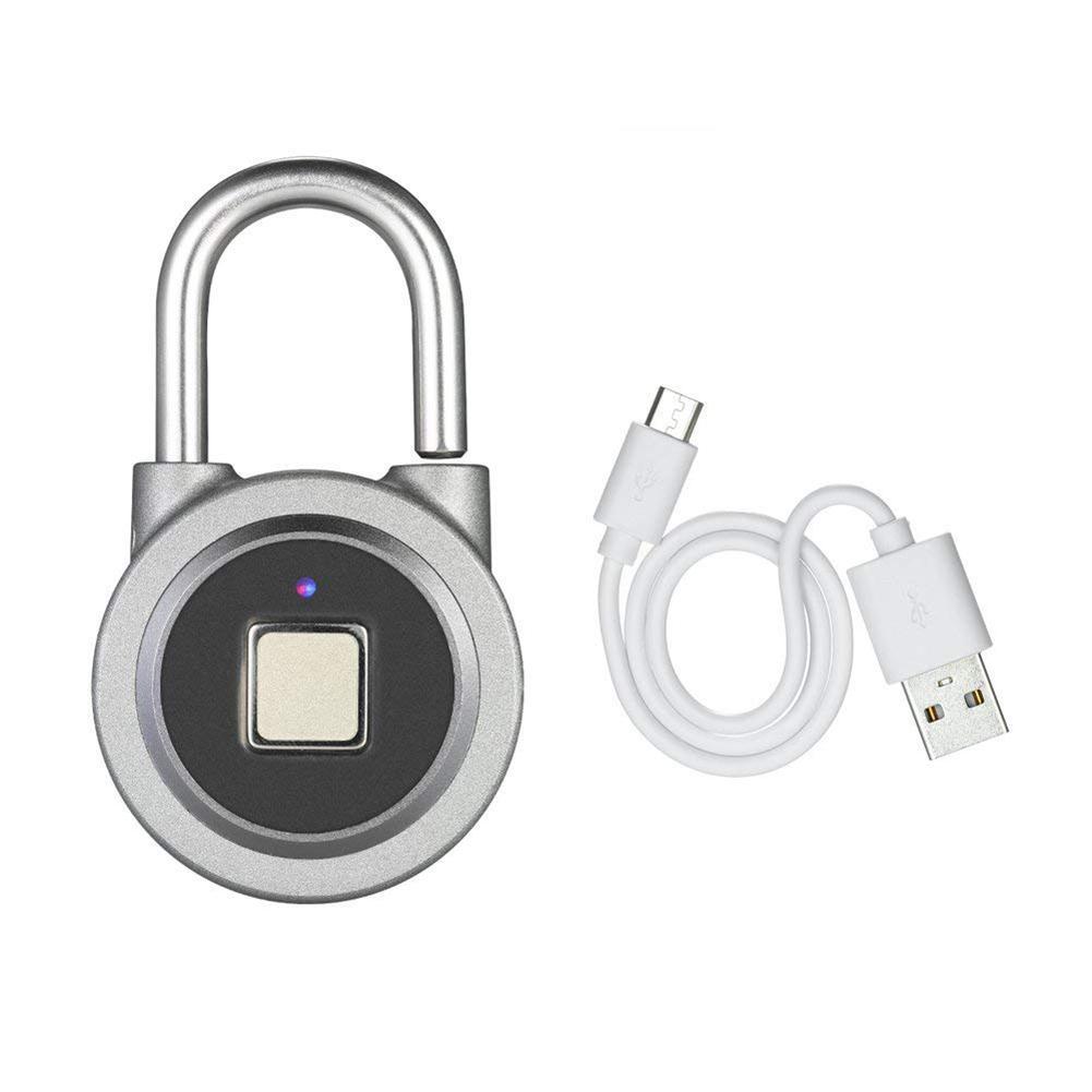 Fingerprint Padlock Smart Bluetooth Password Lock for Student Dormitory Home Office Warehouse DoorFingerprint Padlock Smart Bluetooth Password Lock for Student Dormitory Home Office Warehouse Door