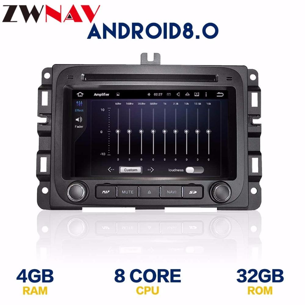 Android 8.0 autoradio DVD pour Dodge RAM1500 ram 1500 2014 2015 2016 2017 avec lecteur dvd BT GPS navigation carte auto stéréo wifi - 2