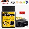 V1.5 мини ELM327 Расширенный OBD 2 Диагностический Прибор Инструменты Авто диагностический Сканер OBDII OBD2 Bluetooth ELM 327 Автомобиль детектор Диагностический инструмент