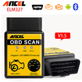 V1.5 mini ELM327 Advanced OBD 2 Scan Tools Auto Car Diagnostic Scanner OBDII OBD2 Bluetooth ELM 327 Car detector Diagnostic Tool