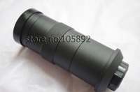 Free shipping industry microscope camera C-mount lens glass 8X-130X Magnification Adjustable 25mm Zoom Eyepiece Magnifier