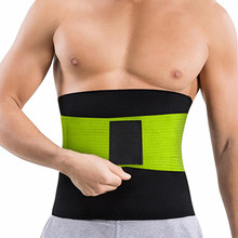 New Man Neoprene Waist Trainer Slimming Belt Tummy Reducing Belts Body Shapers Promote Sweat Shapewear Men Shaper Modeling Strip