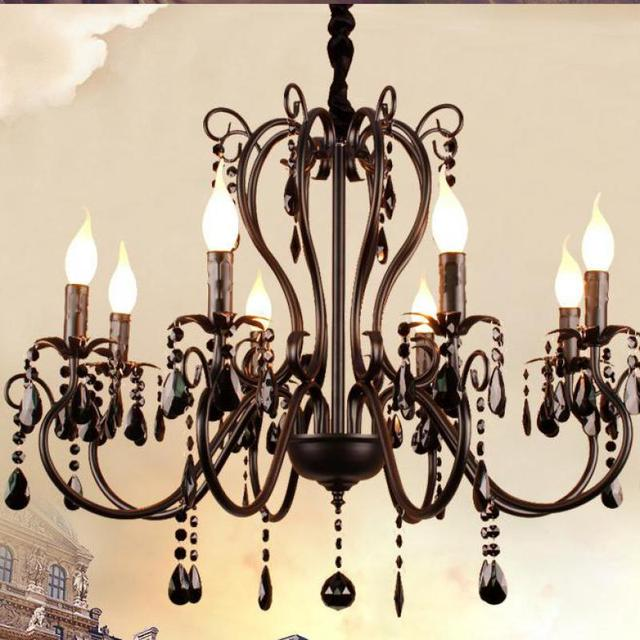 bedroom chandelier for chandeliers black crystal