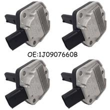 NEW SET(4) Oil Level Sensor 1J0907660 B For VW Jetta Bora Golf MK4 Passat B5 AUDI A4 A6 SKODA SEAT 1J0 907 660 B Genuine