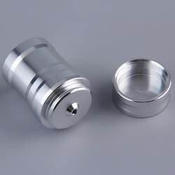 1 шт. портативный мини 10 мл лампа горелки для спирта алюминиевый корпус нагревательное лабораторное оборудование