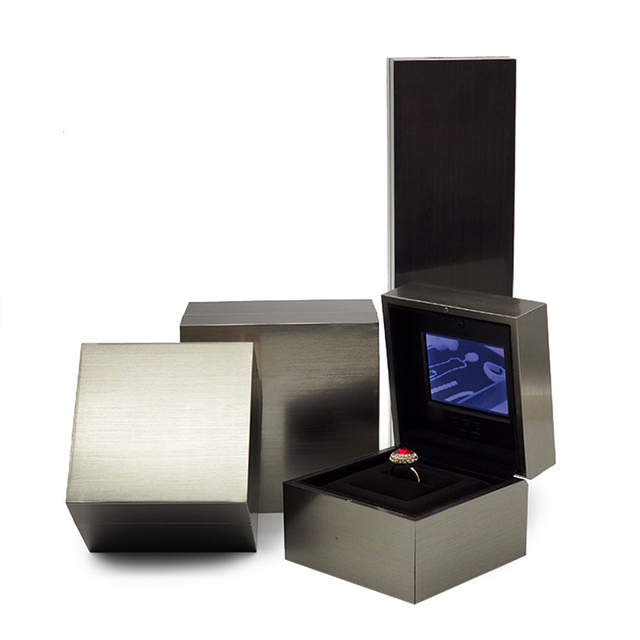 Videovideo jewelry boxes and packaging wedding ring case jewelry