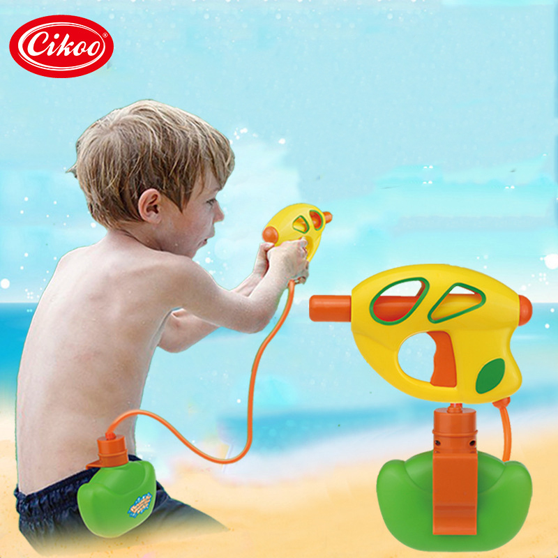 Portable Pod Water Gun Pressure Squirt Gun Toy Children Summer Beach Gaming Water Gun toy